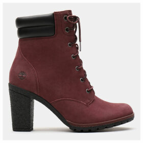 Timberland Tillston 6 Inch Boot For Women In Burgundy Burgundy, Size 9