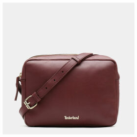 Timberland Rosecliff Camera Bag For Women In Burgundy Burgundy, Size ONE