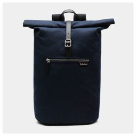 Timberland Allendale Rolltop Backpack In Navy Navy Unisex, Size ONE