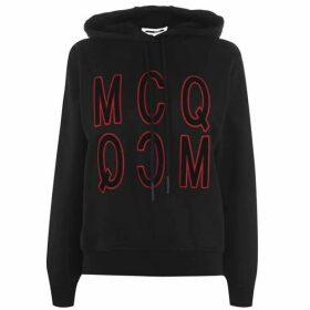 McQ Alexander McQueen Reverse Logo Hoodie