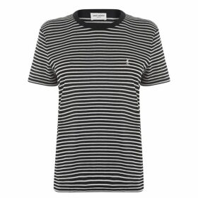 Saint Laurent Stripe T Shirt