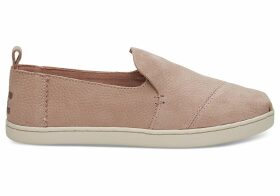 TOMS Bloom Leather Women's Deconstructed Alpargatas Shoes - Size UK6
