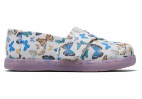 Radial Butterfly Tiny TOMS Classics Slip-On Shoes - Size UK7