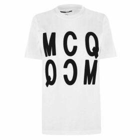 McQ Alexander McQueen Reverse Logo T Shirt
