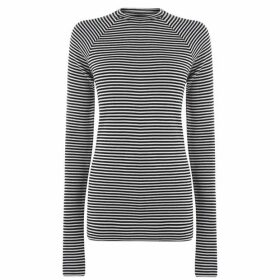Haider Ackermann Long Sleeve Stripe T Shirt