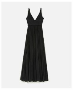 Stella McCartney Black Onslow Dress, Women's, Size 12