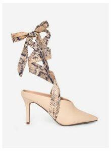 Womens Ecru 'Estelle' Court Shoes- White, White
