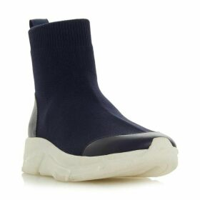 Dune Everret High Top Knit Sports Trainers