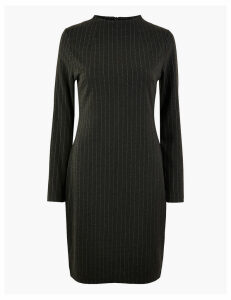 M&S Collection Pinstripe Shift Dress