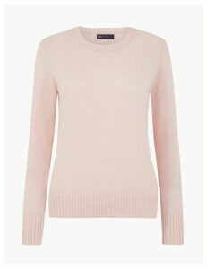 M&S Collection Wool Rich Round Neck Jumper