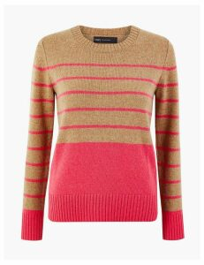 M&S Collection Wool Rich Striped Jumper
