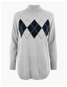 M&S Collection Cashmilon Relaxed Fit Jumper