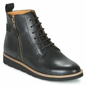 TBS  CARLOTA  women's Mid Boots in Black