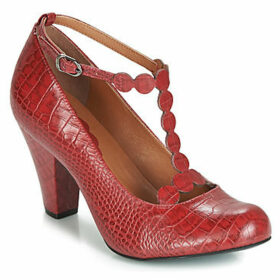 Cristofoli  CROCO IMPERADOR PHILLY  women's Court Shoes in Red