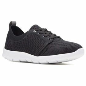 Clarks  Step Allenasun Womens Sports Shoes  women's Shoes (Trainers) in Black