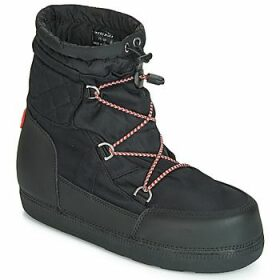 Hunter  ORG SNOW SHORT QUILTED BOOT  women's Ski Boots in Black