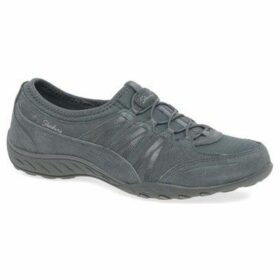 Skechers  Breathe Easy Money Bags Womens Casual Sports Trainers  women's Shoes (Trainers) in Grey