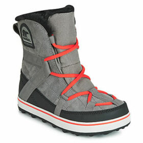 Sorel  GLACY EXPLORER SHORTY  women's Snow boots in Grey