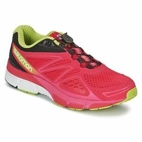 Salomon  X-SCREAM 3D WOMAN  women's Running Trainers in Pink