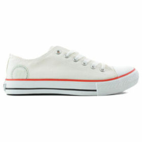 MTNG  Sports MUSTANG low  women's Shoes (Trainers) in White