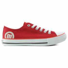 MTNG  Sports MUSTANG low  women's Shoes (Trainers) in Red