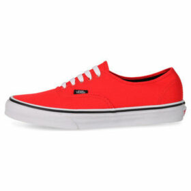 Vans  Authentic  women's Tennis Trainers (Shoes) in Red