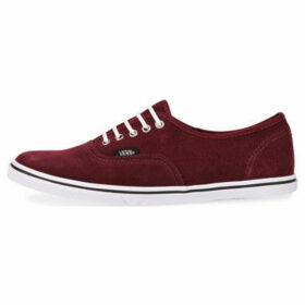 Vans  Authentic Lo Pro  women's Tennis Trainers (Shoes) in Red