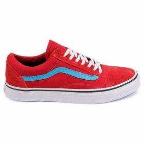 Vans  Old Skool  women's Tennis Trainers (Shoes) in Red