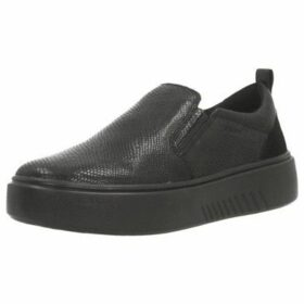 Geox  D NHENBUS  women's Slip-ons (Shoes) in Black