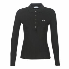 Lacoste  PF7841  women's Polo shirt in Black