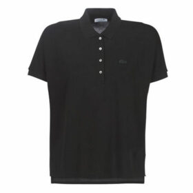 Lacoste  PF0103  women's Polo shirt in Black