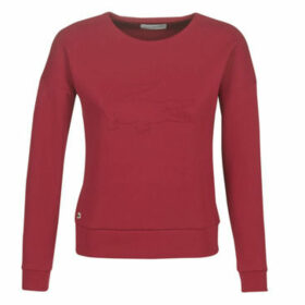 Lacoste  SF7917  women's Sweatshirt in Bordeaux