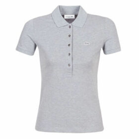 Lacoste  PF7845 SLIM  women's Polo shirt in Grey