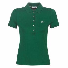 Lacoste  PF7845 SLIM  women's Polo shirt in Green
