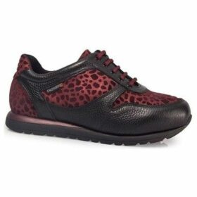 Calzamedi  ORO BORDEAUX SPORTS SHOES W  women's Shoes (Trainers) in Red