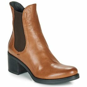 Now  VENETO  women's Low Ankle Boots in Brown