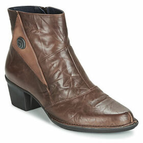 Dorking  DALMA  women's Low Ankle Boots in Brown