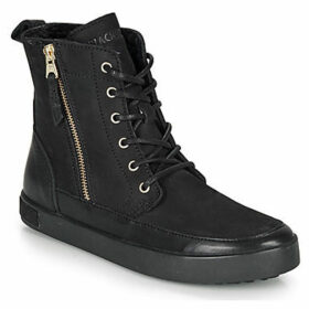 Blackstone  CW96  women's Shoes (High-top Trainers) in Black