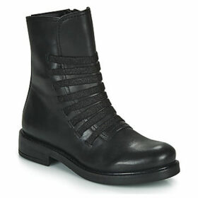 Café Noir  MARWA  women's Mid Boots in Black
