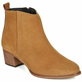 So Size  MARTINO  women's Low Ankle Boots in Brown