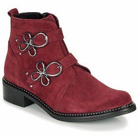 Regard  ROAXAL V6 CRTE VEL SILKY  women's Mid Boots in Red