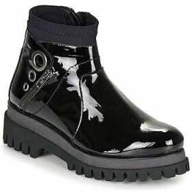 Regard  RONAPIL V1 VERNIS  women's Mid Boots in Black