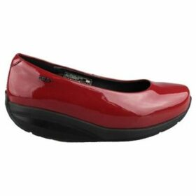 Mbt  HANI 6S BLACK  women's Shoes (Pumps / Ballerinas) in Red