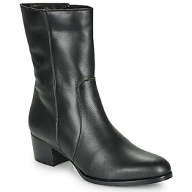 So Size  GASPARD  women's Low Ankle Boots in Black