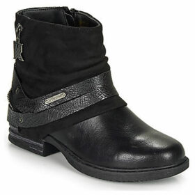 Kaporal  ROCK  women's Mid Boots in Black