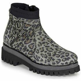 Regard  RONAPIL V2 LEOP CENIZA  women's Mid Boots in Beige