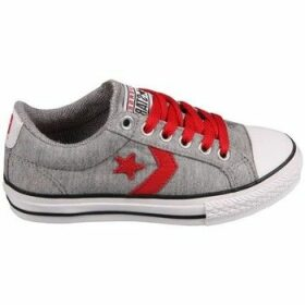 Converse  Star Player EV Grey/Red  women's Tennis Trainers (Shoes) in Grey