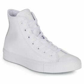 Converse  CHUCK TAYLOR ALL STAR LEATHER -HI  women's Shoes (High-top Trainers) in multicolour
