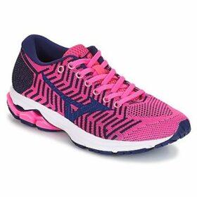 Mizuno  WAVEKNIT R2  women's Running Trainers in Pink