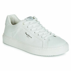 Pepe jeans  Adams  women's Shoes (Trainers) in White